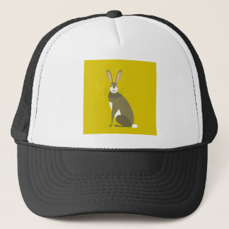 Sitting Hare Trucker Hat