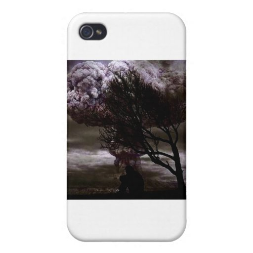 Sitting in sadness iPhone 4 case