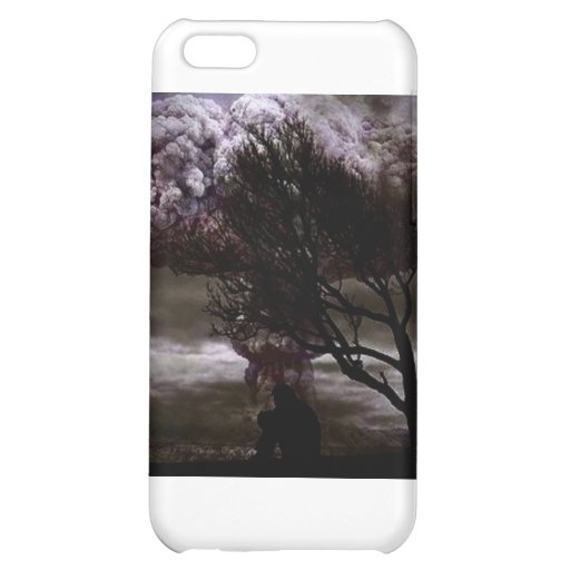 Sitting in sadness iPhone 5C cases