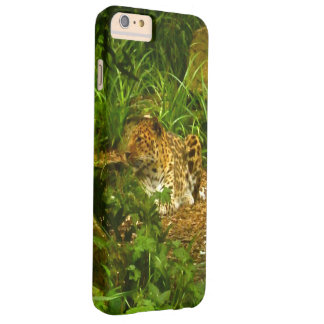 Sitting Leopard Photo Image Barely There iPhone 6 Plus Case