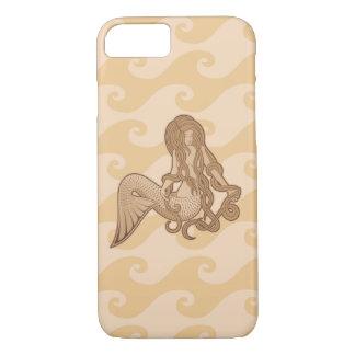 Sitting Mermaid iPhone 7 Case