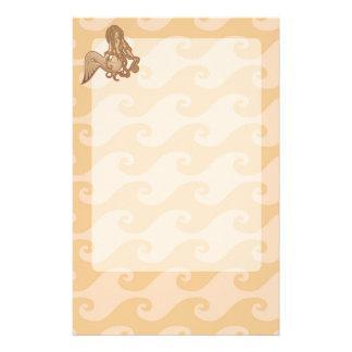 Sitting Mermaid Stationery Paper