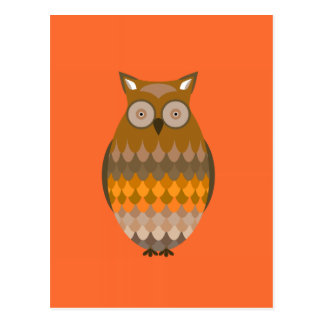Sitting Owl Postcard