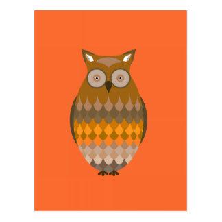 Sitting Owl Postcard