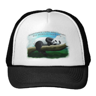 Sitting Panda Hats