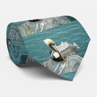 Sitting Pelican Tie