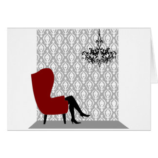 Sitting Pretty Greeting Cards