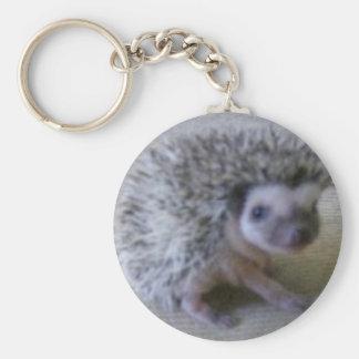 Sitting pretty hedgehog key ring