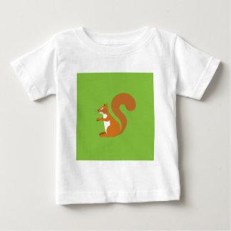 Sitting Squirrel Baby T-Shirt