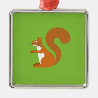 Sitting Squirrel Christmas Ornament