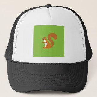 Sitting Squirrel Trucker Hat