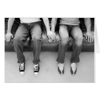 Sitting Together Forever Greeting Card