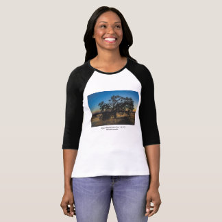 Sitting Tree Upper Bidwell Park Chico Ca 2016 T-Shirt