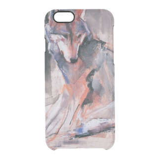 Sitting Wolf 2000 Clear iPhone 6/6S Case