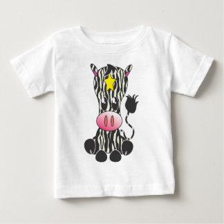 Sitting Zebra Baby T-Shirt