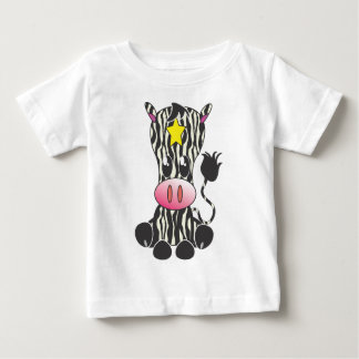 Sitting Zebra Tee Shirts