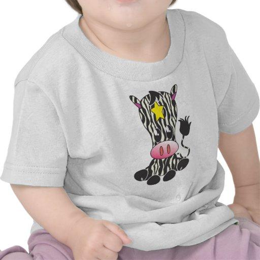 Sitting Zebra Tshirt