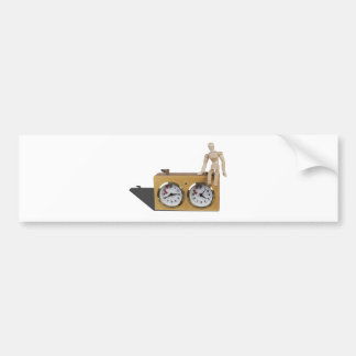 SittingOnChessTimer103013.png Bumper Stickers