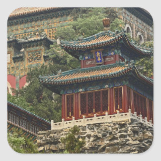 Situated in the outskirts of Haidian District, Square Sticker