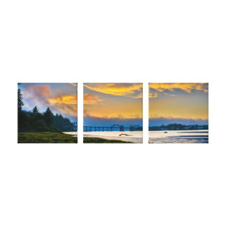 Siuslaw Bridge Canvas Print
