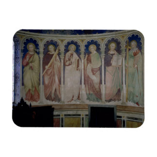 Six Apostles c 1390 fresco Vinyl Magnets