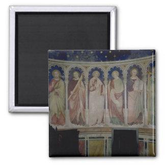 Six Apostles, c.1390 (fresco) Square Magnet