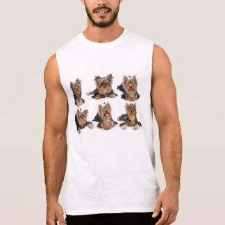 Six dogs sleeveless t-shirt