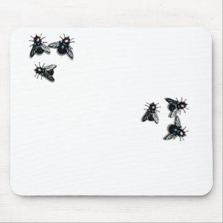Six flies mousepad
