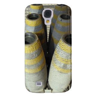 Six GBU-12 bombs sit in a rack Galaxy S4 Case