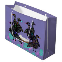 Six Geese Gift Bags