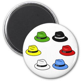 six hats six hats magnet