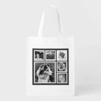 Six Instagram Photos in Collage Modern Market Tote