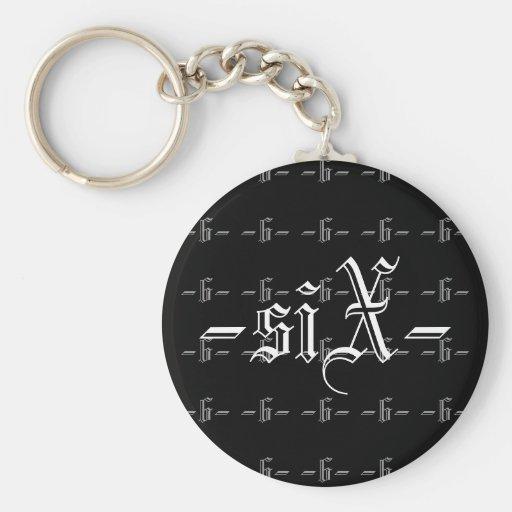 Six Keychain