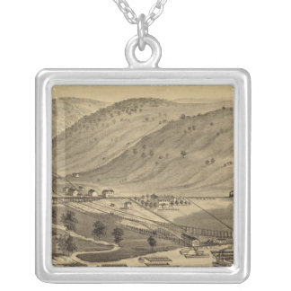 Six Mile Ferry Silver Plated Necklace