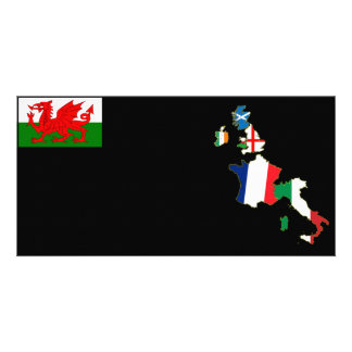 Six Nations Wales Photo Card