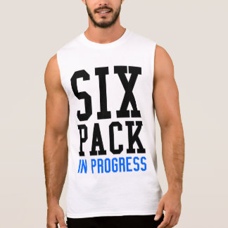 Six Pack In Progress Sleeveless T-Shirt