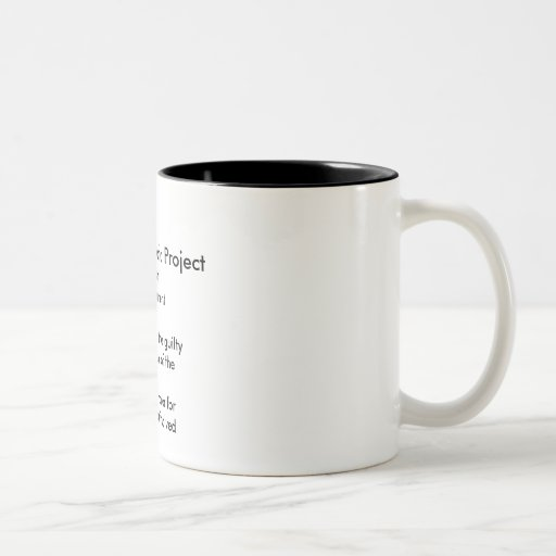Six Phases of a Project Mugs