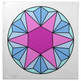 Six Pointed Star Gem1 Napkin