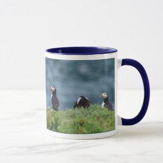 Six Puffins Mug