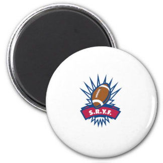 Six Rivers Youth Football Sryf Conference, Inc Und 6 Cm Round Magnet