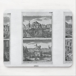 Six royal statues destroyed in Paris Mouse Mat