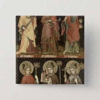 Six Saints 15 Cm Square Badge