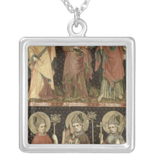 Six Saints Silver Plated Necklace