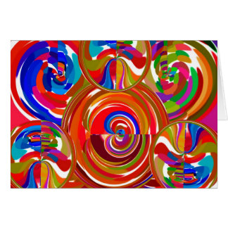 Six Sigma Circles - Reiki Color Therapy Plates V8 Card