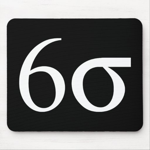 Six Sigma (Lean Six Sigma) Mouse Pad