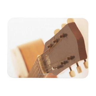 Six String Guitar Rectangle Magnet