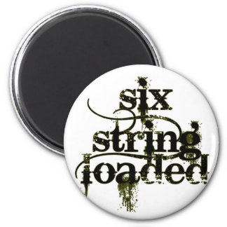Six String Loaded Magnet