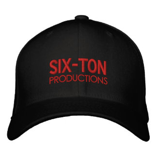 SIX-TON HAT EMBROIDERED CAP