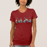 Six Watercolor Violins T-shirts
