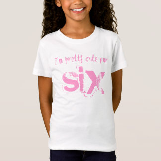 Six Year Old 6th Birthday Gift V012 T-Shirt